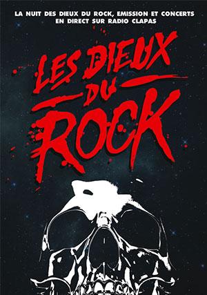 Affiche les Dieux du rock