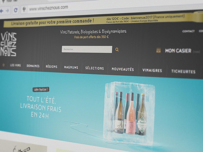 Site web VinsChezNous